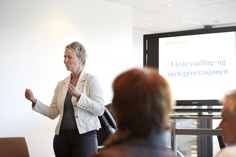 Ranveig R. Saaghus tilbyr kurs innen ledelse, endring, samspill og veiledning